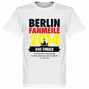 Berlin Fan Meile Tee - White