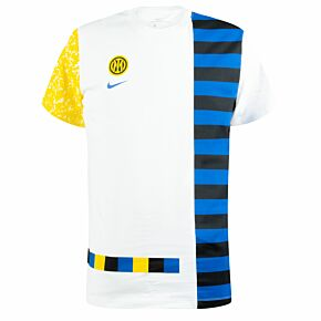 2021 Inter Milan Ignite Salone T-Shirt - White
