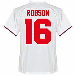Robson 16 (Retro Flock Printing) 1982 England Home