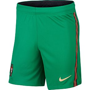 20-21 Portugal Home Shorts