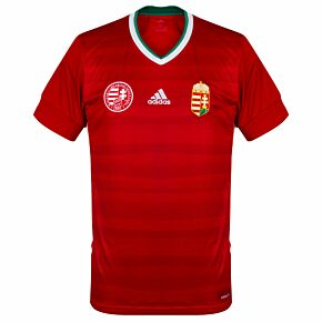 20-21 Hungary Home Shirt