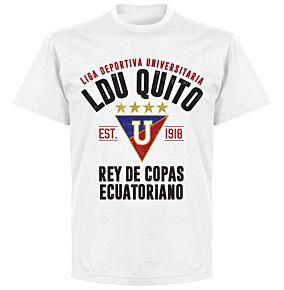 LDU Quito Established T-shirt - White