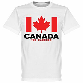 Canada The Canucks Tee - White