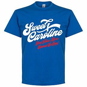 Sweet Caroline T-shirt - Royal