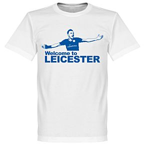 Welcome To Leicester Tee - White