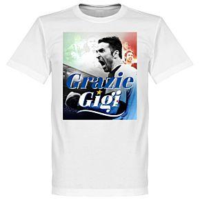 Grazie Gigi Buffon Tee - White