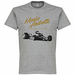 Mario Andretti Tee - Grey