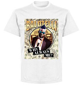 Mario Balotelli Public EnemyT-shirt - White