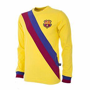 74-75 Barcelona Away L/S Retro Shirt