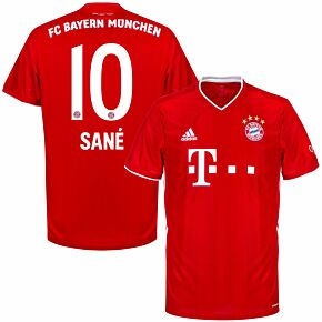 20-21 Bayern Munich Home Shirt + Sané 10