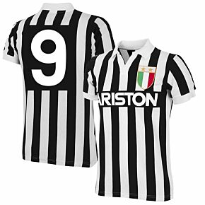Copa '84 Juventus Home RetroShirt + No 9