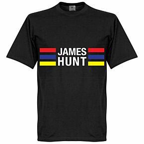 James Hunt Stripes Tee - Black