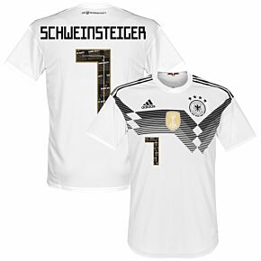Germany Home Danke Bastian Schweinsteiger 7 Jersey 2018 / 2019