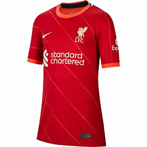 21-22 Liverpool Home Shirt - Kids