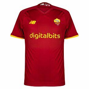 21-22 AS Roma Home Elite Shirt
