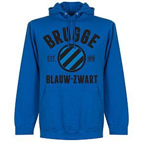 Brugge Established Hoodie - Royal