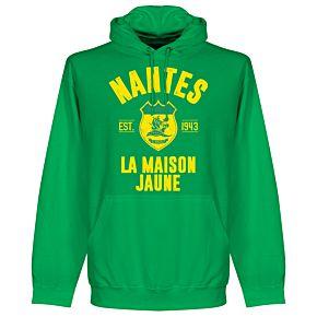 Nantes Established Hoodie - Green