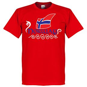 Norway Tee - Red