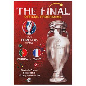 Euro 2016 Final Official Program