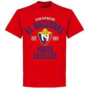 El Nacional Established T-shirt - Red