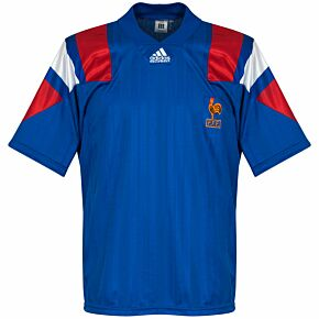 1992 France Home Shirt SShirt - USED condition (Great)- Size S