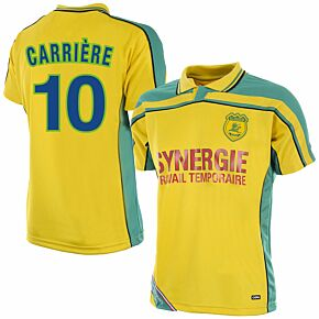 Copa FC Nantes Retro Shirt 2000-2001 + Carriére 10 (Fan Style)