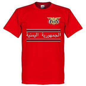 Yemen Team Tee - Red
