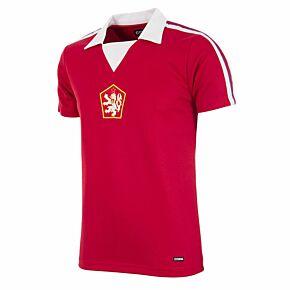 1976 Czechoslovakia Home Retro Shirt