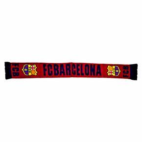 Barcelona Named Scarf - Burgundy