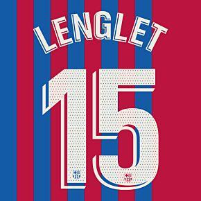 Lenglet 15 (Official Printing) - 21-22 Barcelona Home