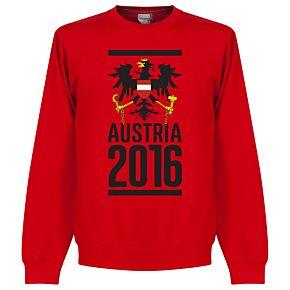 Austria Sweatshirt 2016 - Red