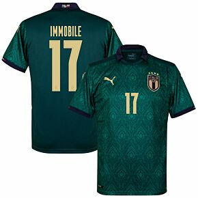 19-20 Italy Renaissance 3rd Shirt + Immobile 17 (Official Printing)