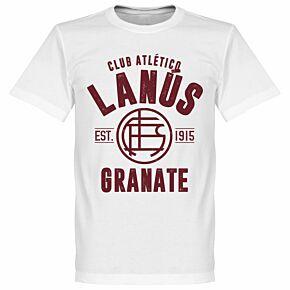 Lanus Established Tee - White