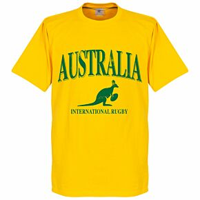 Australia Rugby Tee - Yellow