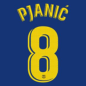 Pjanić 8 (Match Pro Printing) - 20-21 Barcelona Home