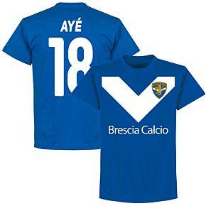Brescia Aye 18 Team Tee - Royal