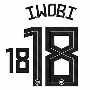 Iwobi 18 (Official Printing) - 20-21 Nigeria Home