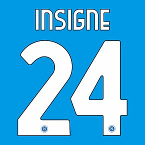 Insigne 24 (Official Printing) 20-21 Napoli Home