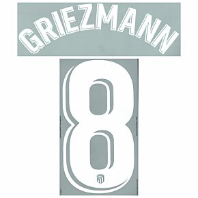 Griezmann 8 (Official Printing) - 21-22 Atletico Madrid Home