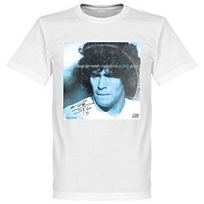 Pennarello LPFC Maradona Tee - White