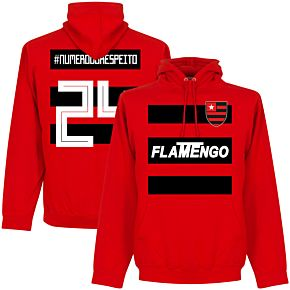 Flamengo #NumeroDoRespeito 24 Team Hoodie - Red