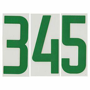 02-04 Nike Back Numbers - Green