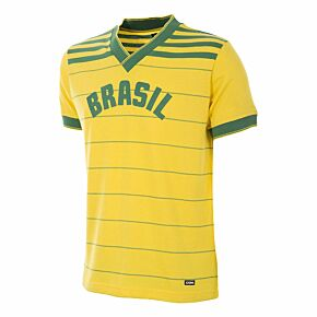 1984 Brazil Home Retro Jersey