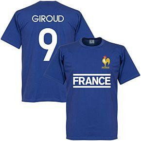 France Giroud Team Tee - Royal