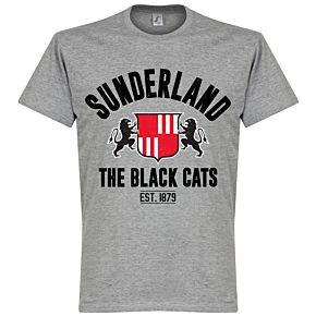 Sunderland Established Tee - Grey