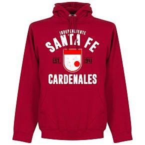 Independiente Santa Fe Established Hoodie - Red