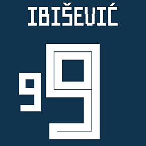 Ibisevic 9 (Officail Printing)