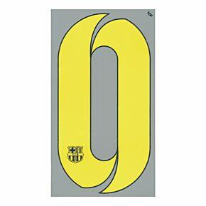 No.1 - 14-15 Barcelona Home KIDS Number (200mm)