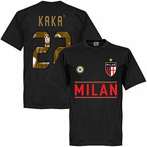 AC Milan Kaka 22 Gallery Team Tee - Black
