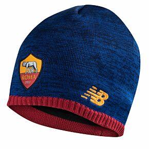 21-22 AS Roma Elite Beanie Hat - Navy